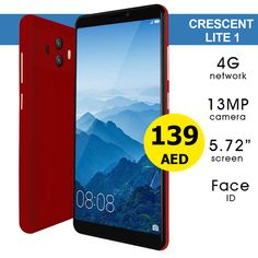 AED 139   Crescent Lite 1 - 4G, 32GB, 13MP, 5.7 inch, Black & Gold with 6 Months Warranty  ➤ Tel ☎️ : 045576800 ⇨ WhatsApp 📱: 0551045757  WWW.ASET-UAE.COM  #asetuae #crescent #dubai #uae Mp 5, Dubai Uae, Daily Deals, 6 Months, Mobile Phones, Black Gold, Smartphone, 6 Mo