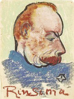 Potrait of Evert Rinsema - Theo van Doesburg