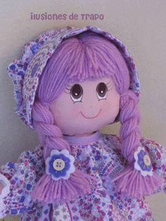 Items similar to Rag doll, rag dolls, personalized doll on Etsy Doll Clothes Patterns, Doll Patterns, My Child Doll, Doll Face Paint, Bathroom Crafts, Doll Eyes, Waldorf Dolls, Dollhouse Dolls, Doll Hair