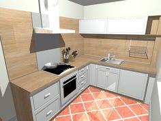 KUCHYNĚ DO L - Hledat Googlem Kitchen Cabinets, Home Decor, Decoration Home, Room Decor, Cabinets, Home Interior Design, Dressers, Home Decoration, Kitchen Cupboards