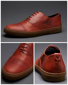 Fred Perry leather shoes - Dodson Leather