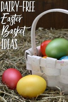 Last-minute Dairy-Free Easter Basket Ideas that will still get to you before Easter!