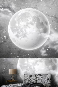 Moon Photos, Black And White Wallpaper, Photo Wallpaper, Designer Wallpaper, Wallpapers, Celestial, Wallpaper, Backgrounds