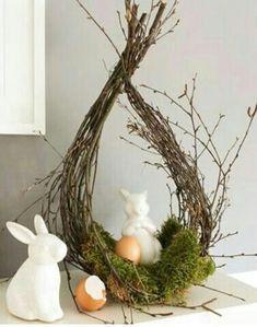 Spring decoration for Easter # Easter decoration Spring decoration . - Spring decoration for Easter # Easter decoration Spring decoration for Easter # Easter - Spring Decoration, Fleurs Diy, Deco Floral, Easter Celebration, Easter Holidays, Diy Wreath, Easter Baskets, Gift Baskets, Easter Crafts