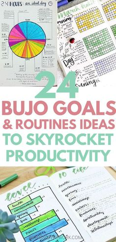 Set BULLET JOURNAL GOALS to boost productivity and conquer time management. Inspiration and motivation in beautiful bujo page ideas and spreads to map out goals, track time and progress, and reflect and review to tweak for continual improvement. Whether tracking weekly, monthly or yearly goals in fitness, finance, level 10 or any area of your life, or planning for efficiency with a time ladder, log, table, blocking, or other method, you will find a layout to turn your dreams into reality.