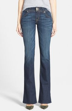 Hudson Jeans Signature Bootcut Jeans (New Stella) available at #Nordstrom