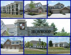 Ironwood at Shaker Run condominiums by Fischer Homes  Lebanon Ohio 45036.  New construction and resale.  Golf course/pool community.  Click through for more information and to search Shaker Run condos for sale.