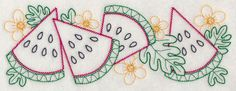Watermelon Wedge Border (Vintage)
