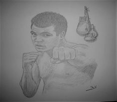 MUHAMMAD ALI HEAVYWEIGHT BOXER CASSIUS CLAY CHAMPION ORIGINAL PENCIL DRAWING  #REALISM Sports Drawings, Muhammad Ali, Pencil Drawings, Clay, Art, Clays, Art Background, Kunst, Performing Arts