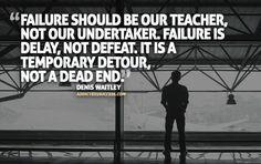 Denis Waitley Failure Inspiration-Picture-Quote