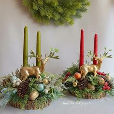1 million+ Stunning Free Images to Use Anywhere Rustic Christmas Crafts, Christmas Candle Decorations, Christmas Flowers, Christmas Candles, Xmas Crafts, Christmas Art, Christmas Projects, Christmas Wreaths, Christmas Ornaments
