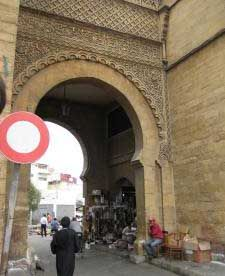 A gate into the Medina, or old town. Kurt and Sarah would have traveled through such a gate on the hunt for a double agent and a murderer. Casablanca, Old Town, Dawn, Street View, Travel, Old City, Viajes, Destinations, Traveling