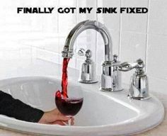 Finally Fixed the Sink