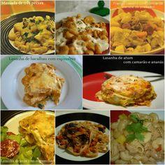 Hoje para jantar ...: Dia Mundial das Massas - 8 sugestões para o jantar