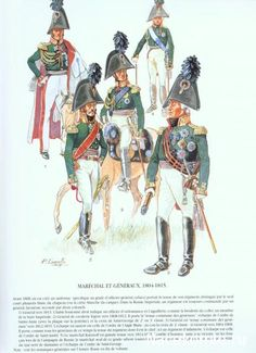 Russian Marshals and Generals 1804-1815