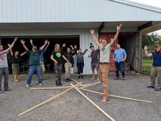An activity from our 2019 PDC at Bending Oak Hydroponic Gardening, Hydroponics, House Heater, Permaculture Design Course, Rocket Mass Heater, Build A Greenhouse, Project Site, Co Design, Activities