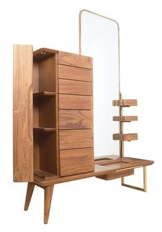 Shop dressers at Chairish, the design lover's marketplace for the best vintage and used furniture, decor and art. Home Decor Furniture, Furniture Plans, Modern Furniture, Furniture Design, Asian Furniture, Dressing Room Mirror, Dressing Table Design, Hotel Room Design, Dresser With Mirror