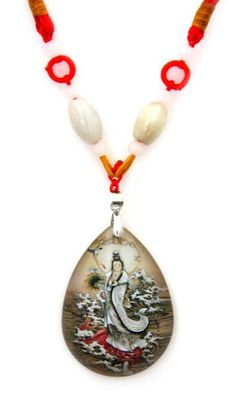 buy feng shui buddhist pendant necklace guanyin use it with the buddha thangka tapestry guanyin and with the antique bronze statue quan yin for sale at buy feng shui