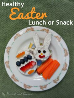 Healthy Easter Lunch or Snack - My Nearest And Dearest