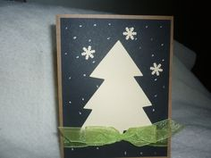 Holiday Tree Card by Wrightcards on Etsy