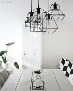 FORM: This image displays form in that the lights hanging above as well as a few decorations on the table show a sense of volume. These items stand out as 3 dimensional figures and are based off of standard shapes.