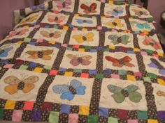 butterfly quilt from sheila