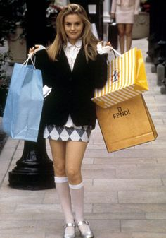 Clueless - With their Alaia mini-dresses, matchy-matchy suits, knee-length socks and walk-in wardrobes, who didn't want to dress like Cher and Dionne during the 90s?    FACT: There are 53 different kinds of plaid used in Clueless, seven of which are worn by Cher, and twelve by other major characters.