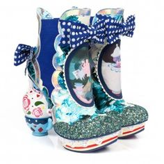 """'one lump or two' and 'all Mad here' """"Have I gone mad?"""" we shall let you decide. Introducing the second and third shoes from our extraordinarily curious collection…  These exquisitely detailed boots and shoes are sure to be just your cup of tea… If you're a little mad, that is, as we all are here!   Limited edition Irregular Choice 