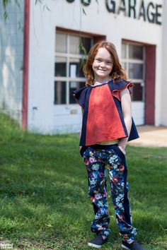 Sewing Like Mad: The Tip Top and Morocco Pants by Petit à Petit Patterns.