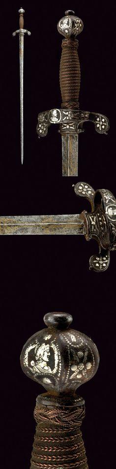 A sword:    provenance: Brescia dating: 17th Century