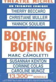 Boeing Boeing au théâtre Michel #Paris