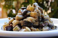 Melanzane olive e pinoli