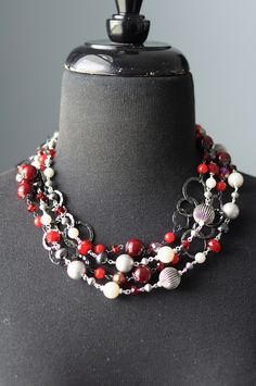 Hot Hot Hot with Very Berry by TheBlingTeam, via Flickr. Premier Designs Jewelry Carolyn Popp
