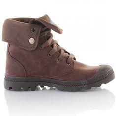 Palladium Pallabrouse Ls Wn Marron - Chaussures Boot Femme