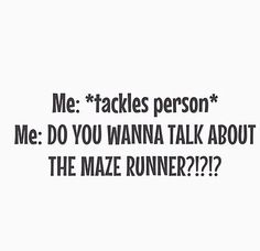 Yes. Please help me with the pain of The Death Cure