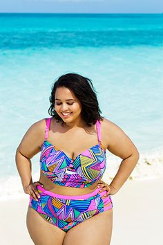 The Plus-Size Bikini You've Been Waiting For Is Back — Finally! #swimsuitsforall