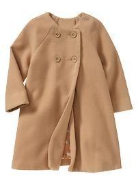 Bow A-line jacket