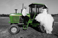 Country theme wedding/John deer/Green