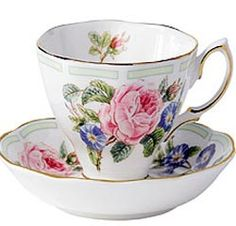 ♔ Royal Albert - Botanical Roses