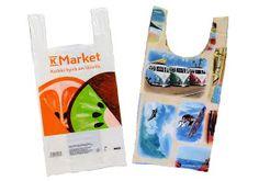 muntaipale - kankaita ja ompeluniloa: Kangaskassi muovikassikaavalla Reusable Tote Bags, Marketing, Handmade, Bag, Hand Made, Handarbeit