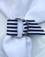 Party Frosting: Nautical napkin rings