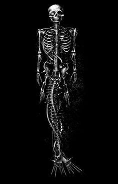 Mechanical mermaid Stolen Image, Mermaids And Mermen, Sticks And Stones, Black Milk, Skull And Bones, Soft Grunge, Looks Cool, Sirens, Werewolf