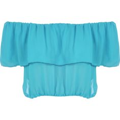 Trixy Gypsy Boho Crop Top ($19) ❤ liked on Polyvore featuring tops, shirts, turquoise, sexy shirts, boho crop top, blue crop top, blue shirt and sexy off the shoulder tops