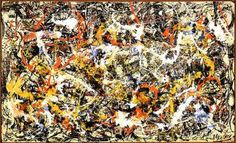 Art History Definition: Action Painting: Jackson Pollock (American, 1912-1956)…