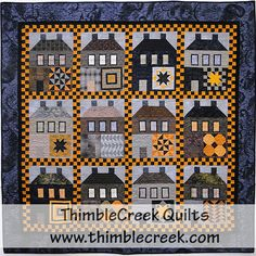 Sleepy Hollow Quilt Pattern - Thimblecreek Quilts