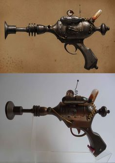 steampunk weapon Efi Ganor