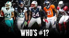 Top 5 CBs in the NFL:  5. Brent Grimes 4. Aqib Talib 3-1: http://at.nfl.com/273IDHa