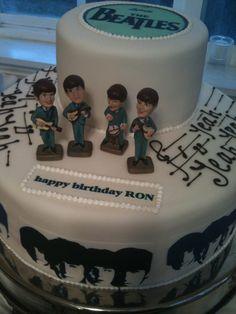 Beatles Abbey Road Cake By Essexflourpower Cakesdecor