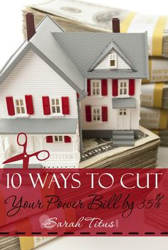 10 Ways to Cut Your Power Bill by 35% | Saving money on things you use every day is the most effective way to add money to your checking account on a monthly basis. So, where do you start? The first place I started was with my power bill.