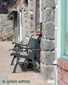 Old Ellicott City Bench